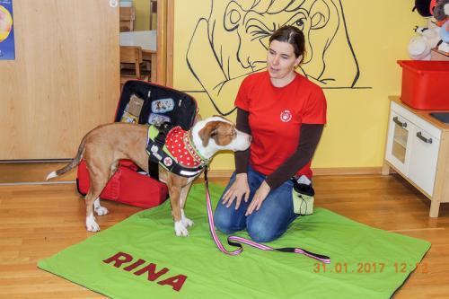 Vesna in Rina na obisku